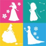 Ninas Siluetas-Princesas